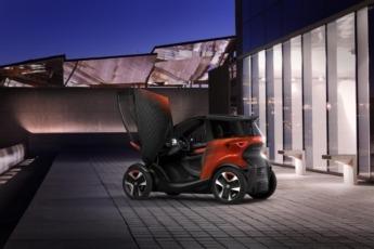 El biplaza eléctrico Minimó es una de las apuestas de Seat para la movilidad del futuro. (Foto: cedida).