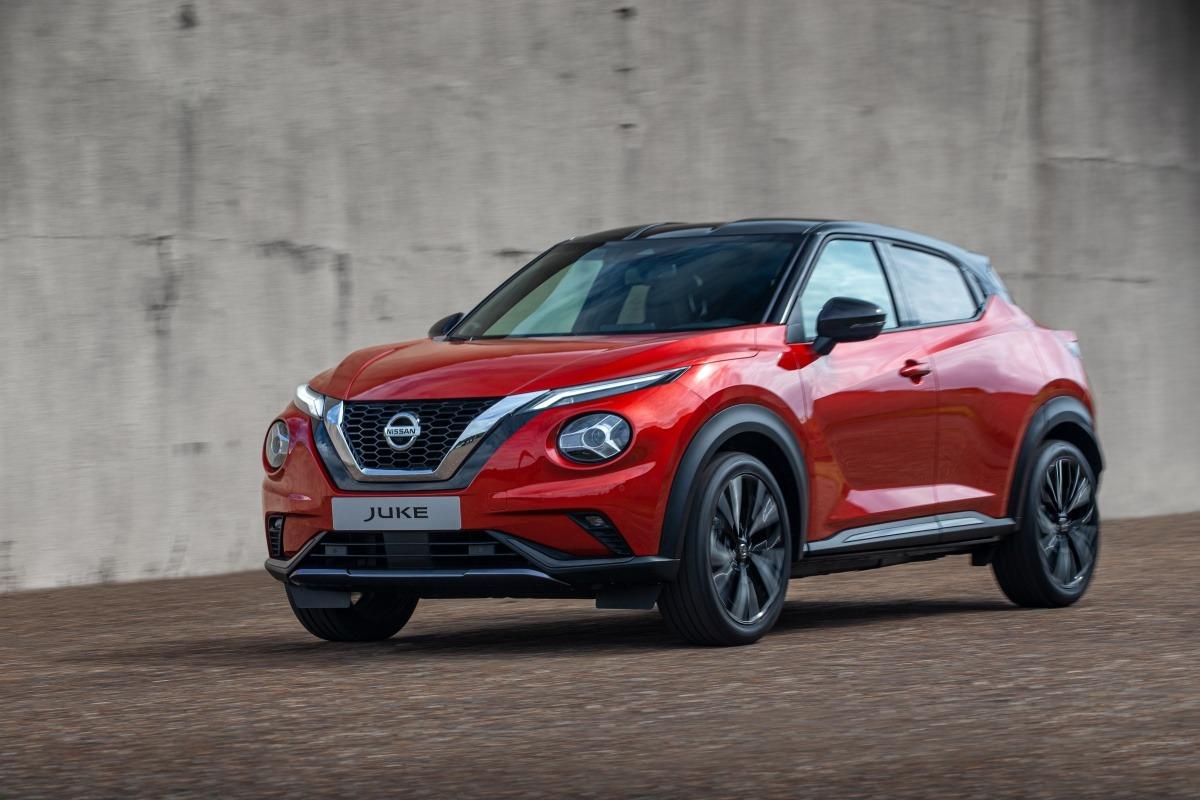 Nissan renueva todo un éxito de ventas, el Juke.