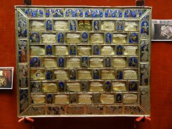 El llamado Ajedrez de Carlomagno, del museo de la Colegiata de Roncesvalles.