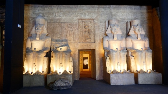 Templo de Abu Simbel.