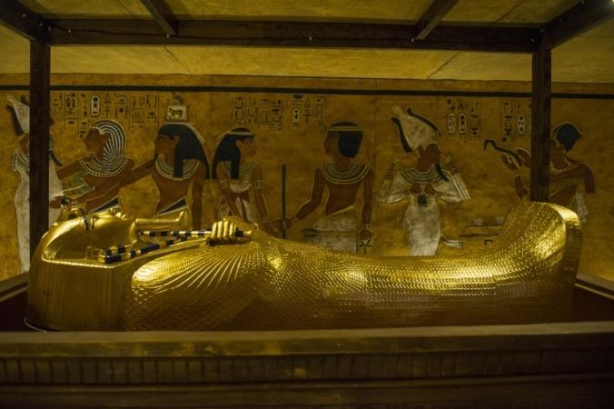 Cámara funeraria de Tutankamón.