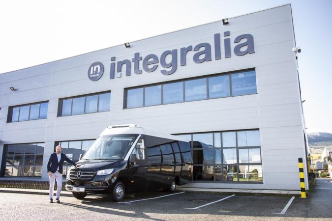Instalaciones de Integralia, en el polígono industrial Comarca II.