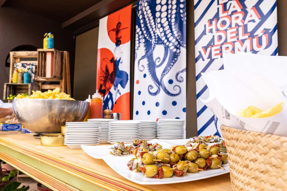 Retrovisor gastronómico restaurante Maher