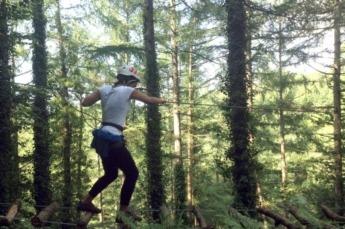 IrrisarriBusiness Land ofrece actividades de aventura.