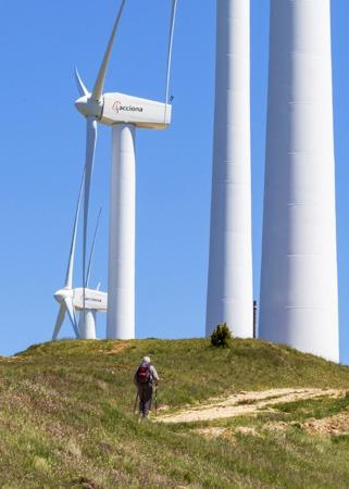 Navarra es un referente en energía eólica.