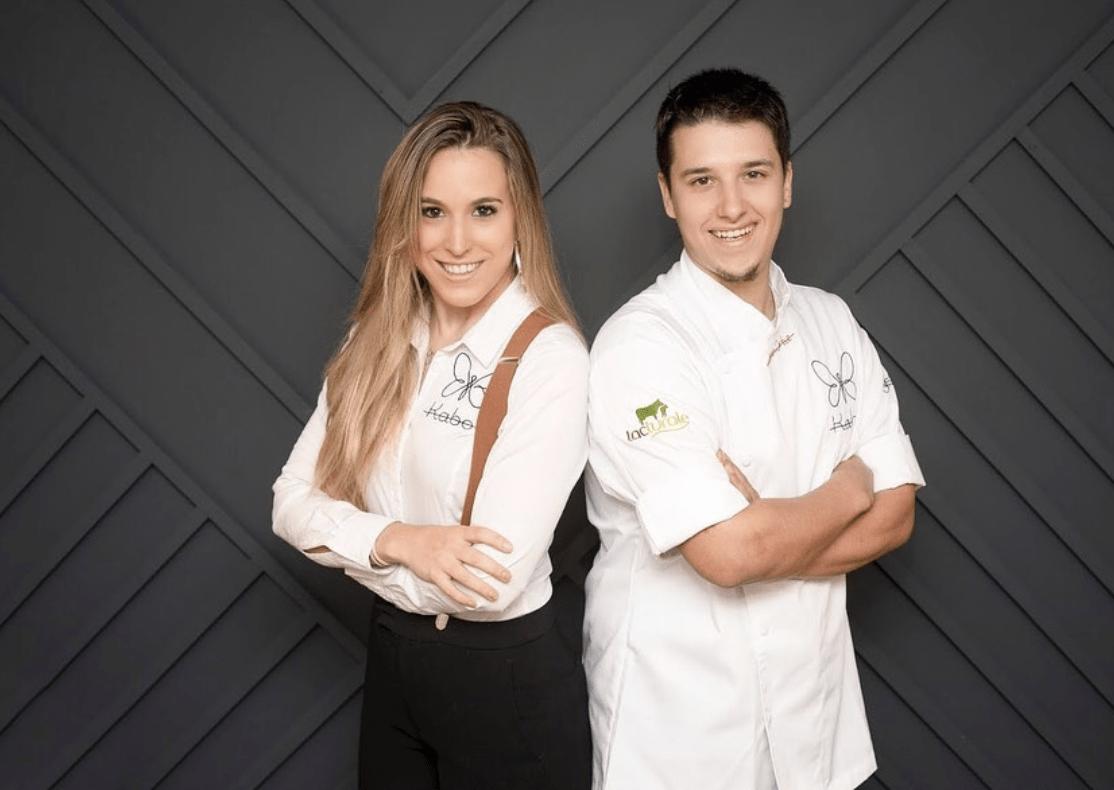 Jaione Aizpurua y Aarón Ortiz han cumplido su sueño de abrir un restaurante.