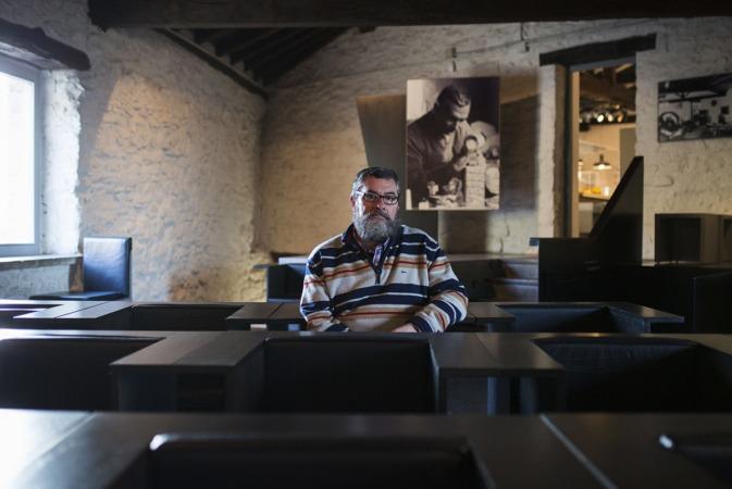 Gregorio Díaz Ereño, director de la Fundación Museo Jorge Oteiza.