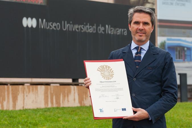 Jaime García del Barrio, director del Museo Universidad de Navarra.