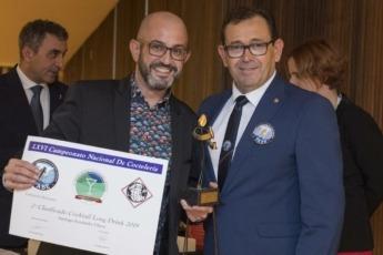 Santiago Fernández Checa, 2º Clasificado Cocktail Long Drink 2019 en Categoría Barmans.
