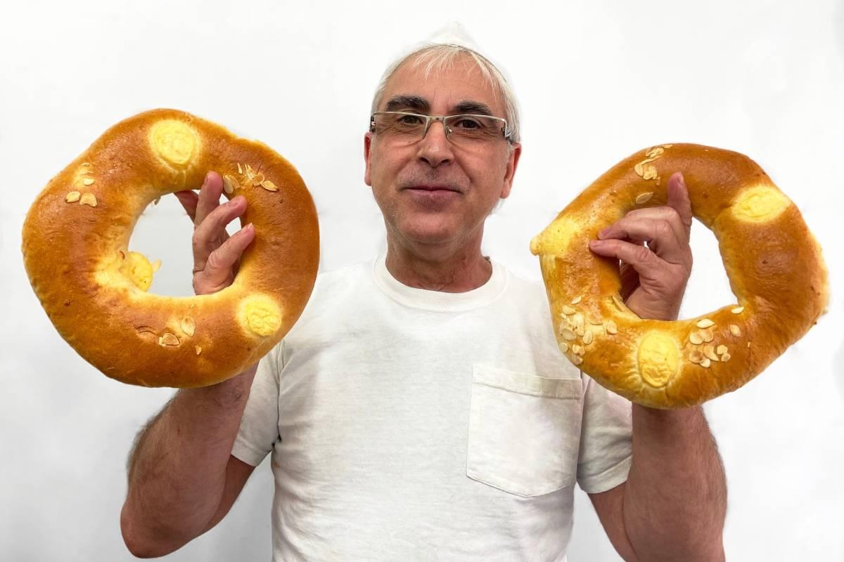 Los roscones sin gluten serán terminados el día 4 de enero.
