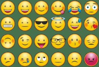 Un emoji es una buena opción para acompañar a un 'Ok'.