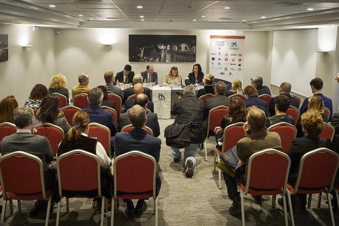 La presentación tuvo lugar en el Hotel Blanca de Navarra.