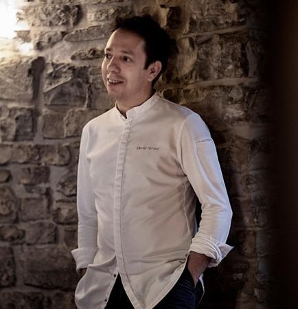 David Yárnoz es el único chef navarro con dos estrellas Michelin.