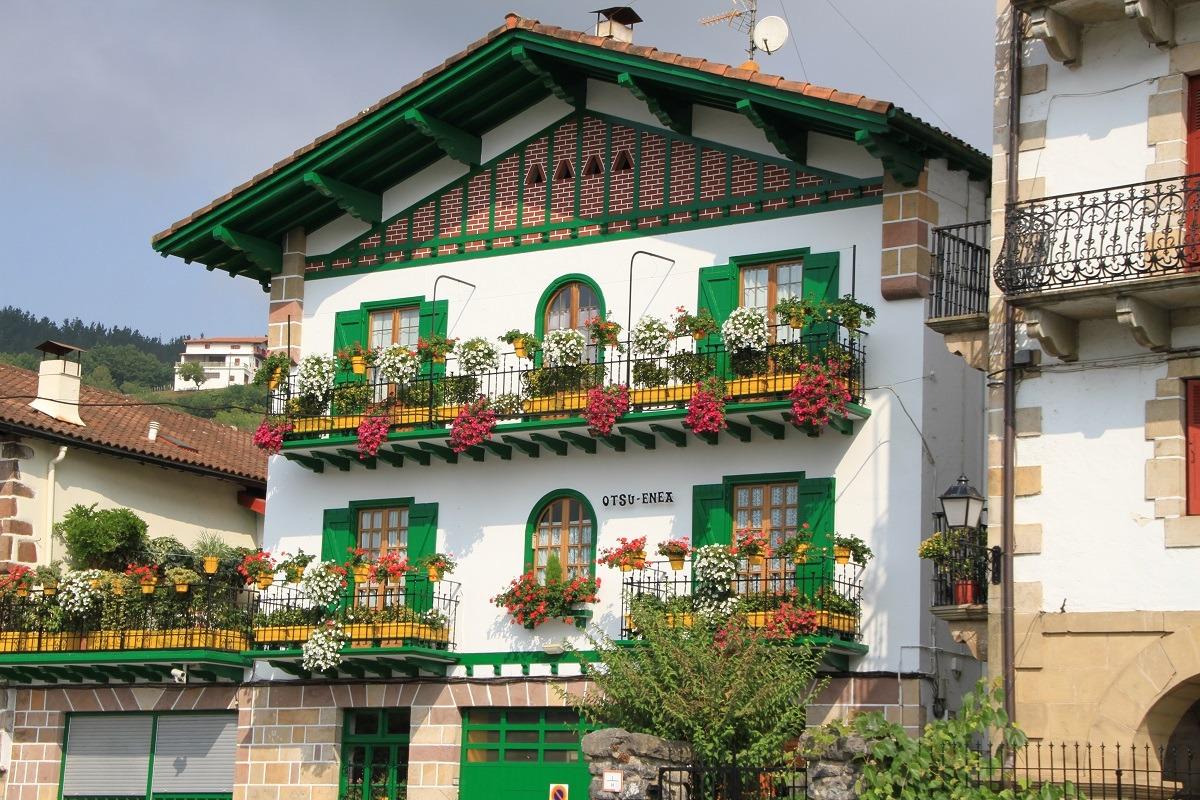 Casa típica de Bera.