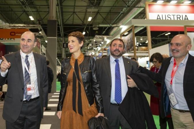 La presidenta recordó que el turismo se ha convertido en uno de los activos estratégicos de Navarra.