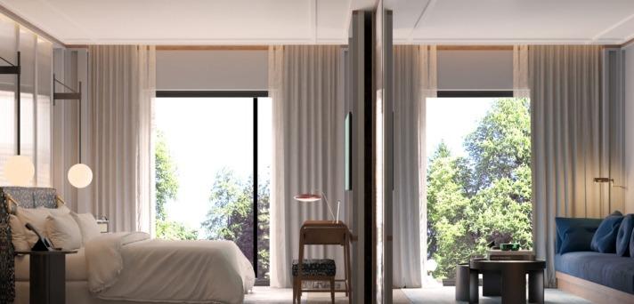 El hotel de San Sebastián contará con varias suites.