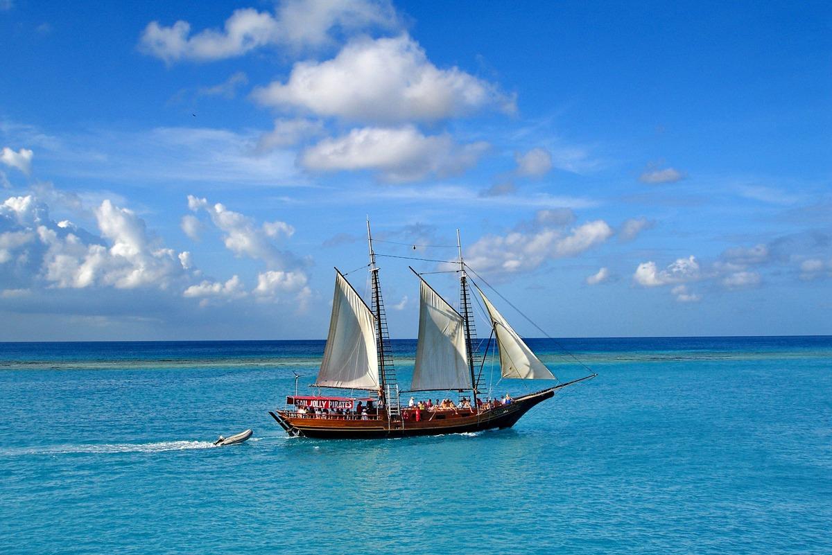 Aruba es un país perfecto para las actividades acuáticas.