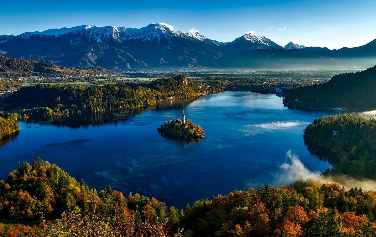 Eslovenia posee unos paisajes de postal.