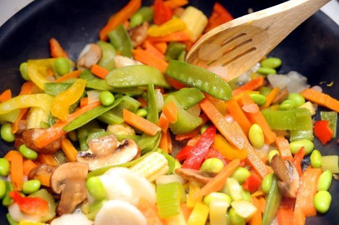 Lo más sano es seguir una dieta rica en verduras y frutas.