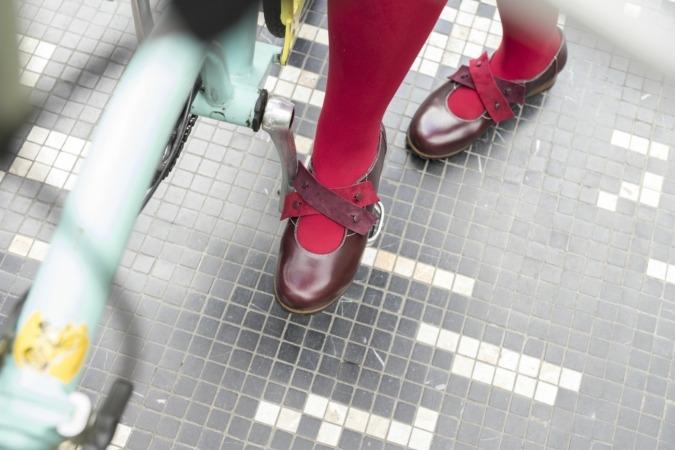 El calzado de Libertad Avenue se hace con material reciclado y desafía la obsolescencia programada.