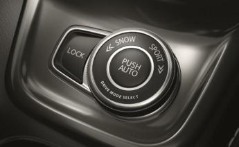 Distintos programas permiten al conductor escoger comportamientos específicos de la tracción.