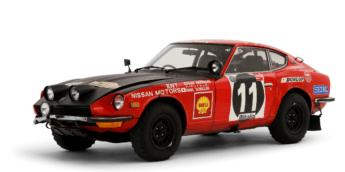 El Datsun que venció en el Rally Safari de 1971.