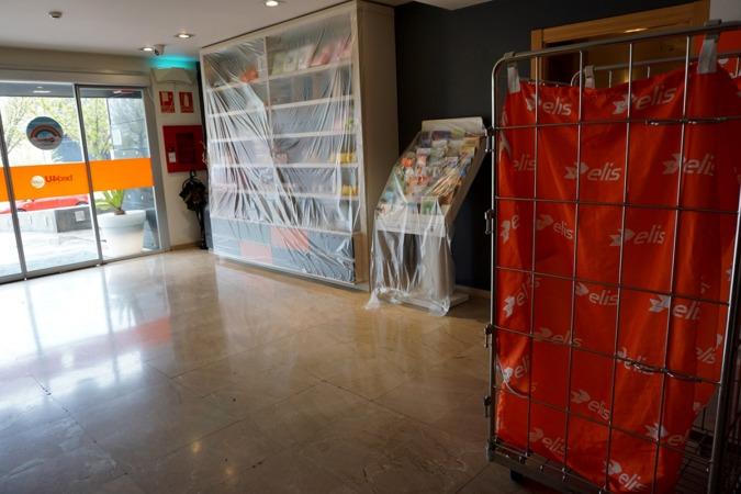 Inicialmente, Salud ha habilitado dieciocho habitaciones en el bed4U de Tudela.