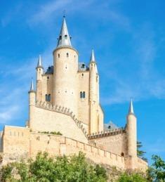 El Alcázar de Segovia está declarado como Patrimonio de la Humanidad por la UNESCO.