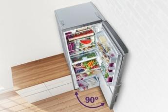 Gracias al sistema Perfect Fit, no es necesario disponer de espacio extra entre la pared y el frigorífico.