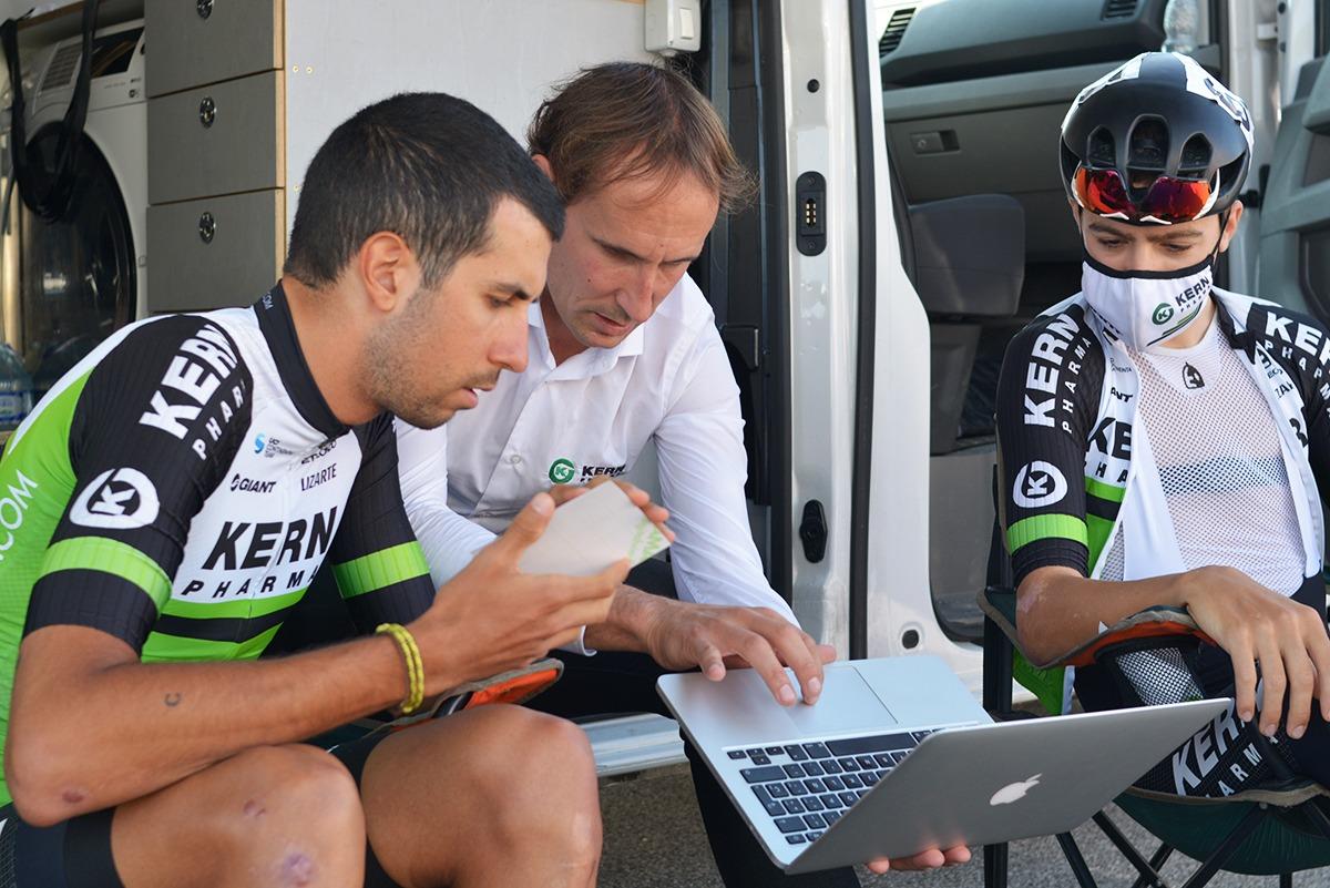 Juanjo Oroz destaca la apuesta del equipo por los corredores jóvenes.