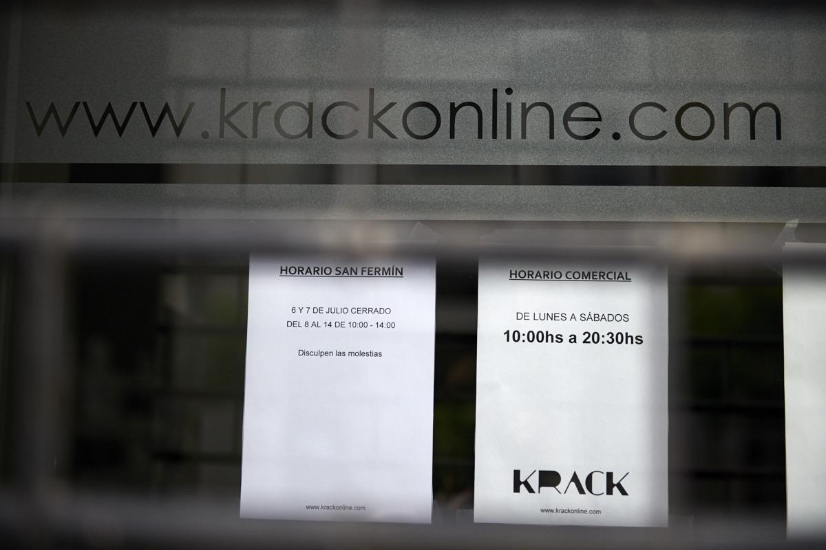 Muchos comercios cerraron los días 6 y 7 de julio.