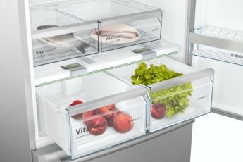En la zona VitaFresh Pro o VitaFresh Plus los alimentos frescos se conservan hasta el triple o doble de tiempo.
