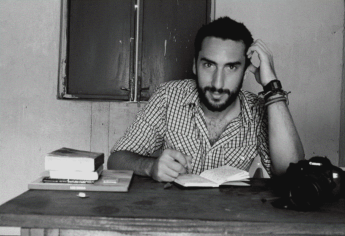Gonzalo Araluce. Teobaldo al trabajo periodístico en defensa de los valores y derechos humanos.