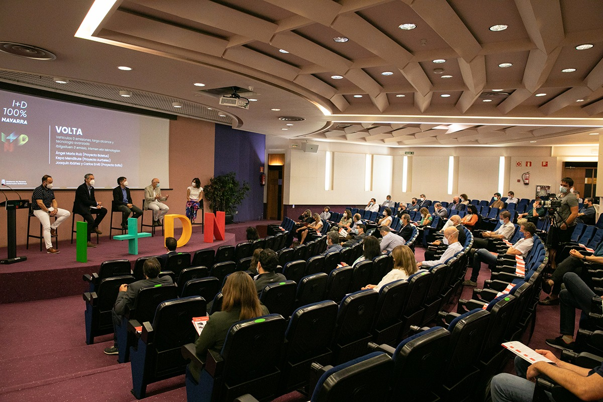 El encuentro, celebrado en el Colegio Oficial de Médicos de Navarra, pudo seguirse presencialmente o por 'streaming'.