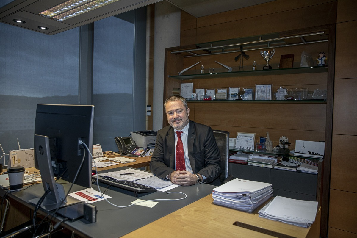 Joaquín Ancín trabajaba en EHN cuando Acciona compró la empresa.