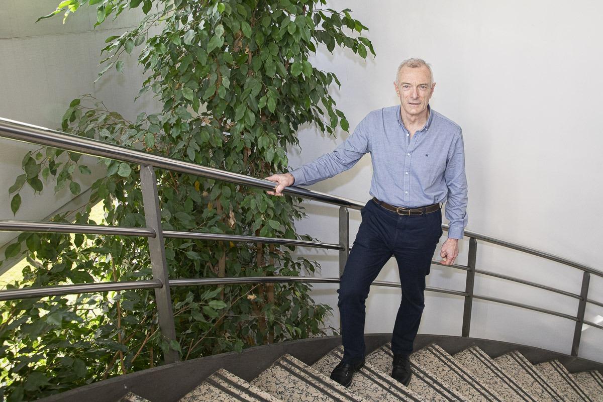 Juan Córdoba ingresó en la empresa en 1999, cuando todavía era Asientos Esteban.