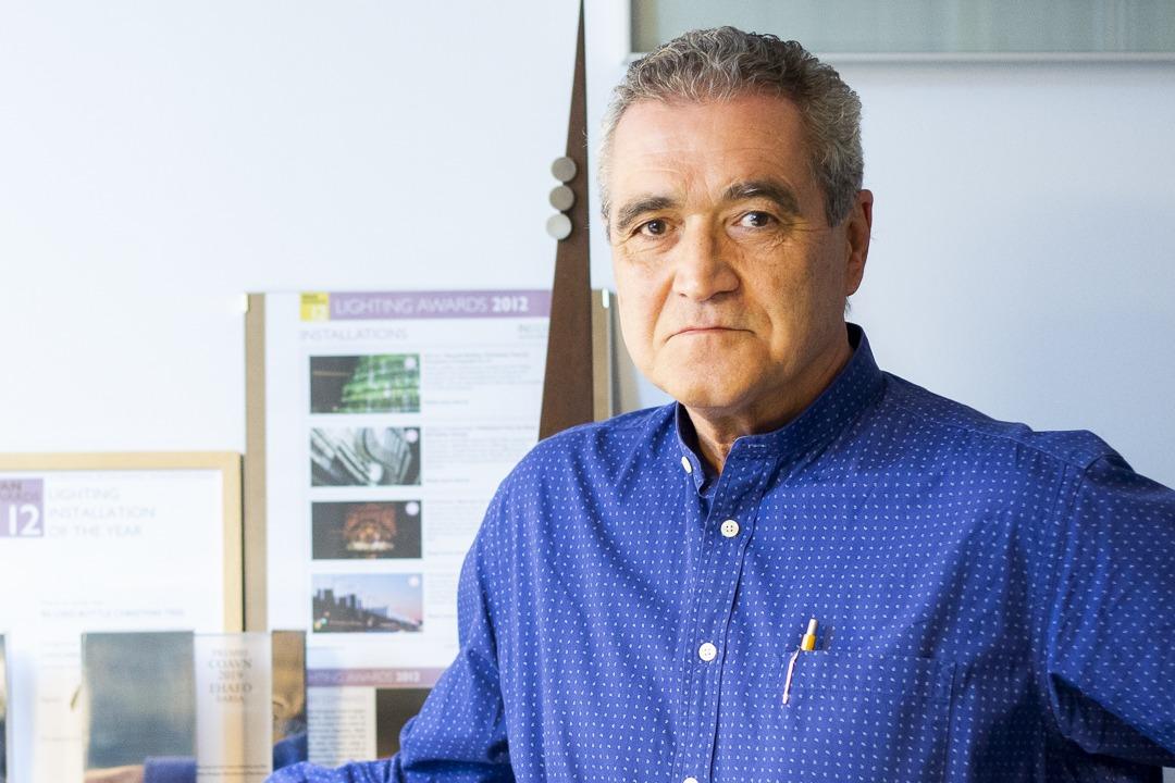 Chocarro es el nuevo decano del Colegio Oficial de Arquitectos Vasco-Navarro.