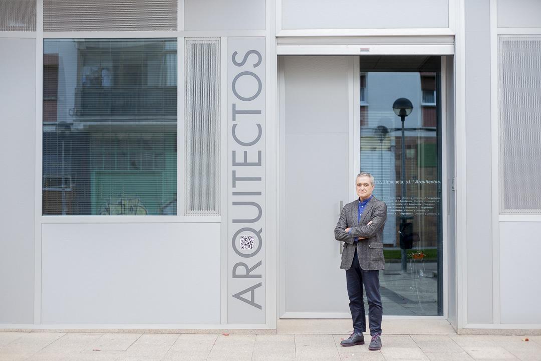 Uno de sus objetivos al frente del COAVN es dignificar la profesión de los arquitectos.