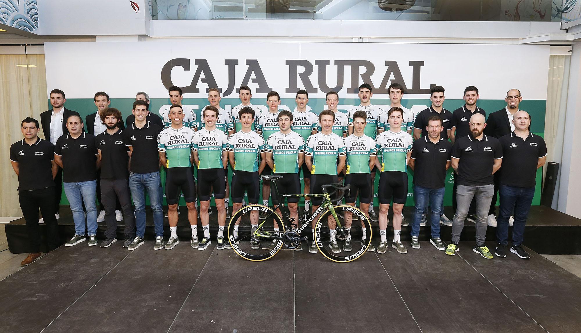 El Caja Rural-Seguros RGA usa las bicicletas Guerciotti.