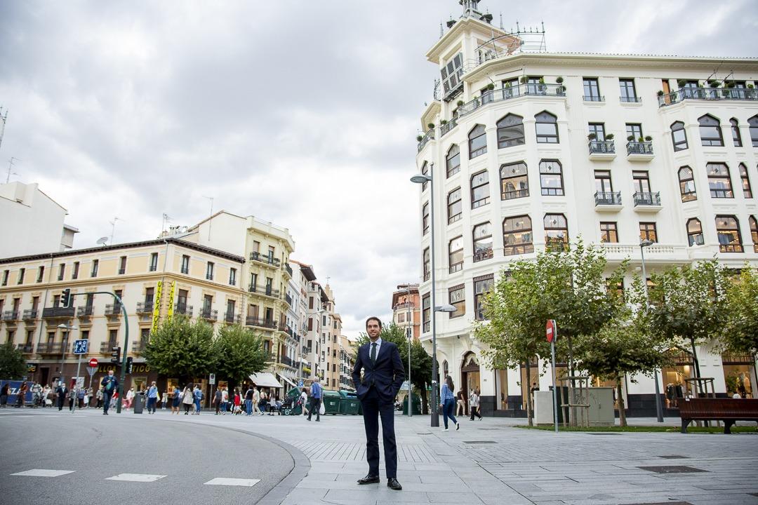 Sayas sostiene que el Gobierno central está dando la espalda a Navarra.