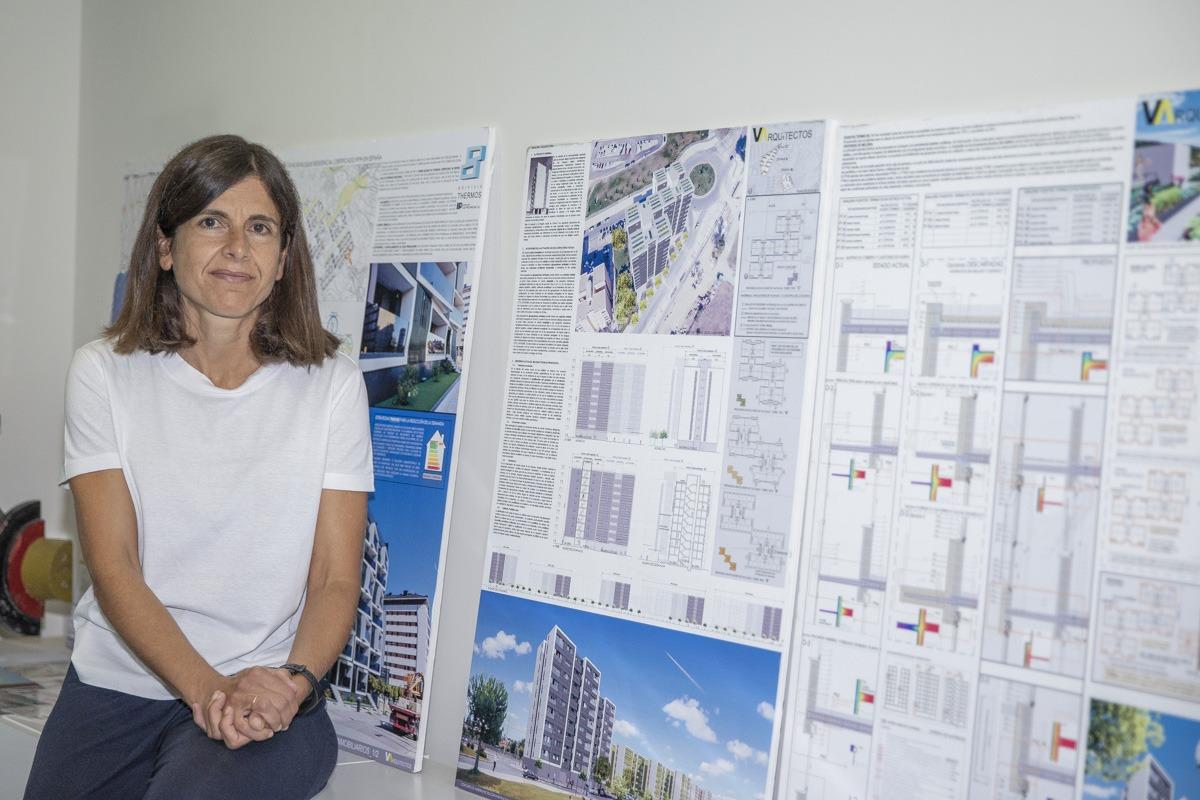 La arquitecta comparte estudio con su padre y su hermano.