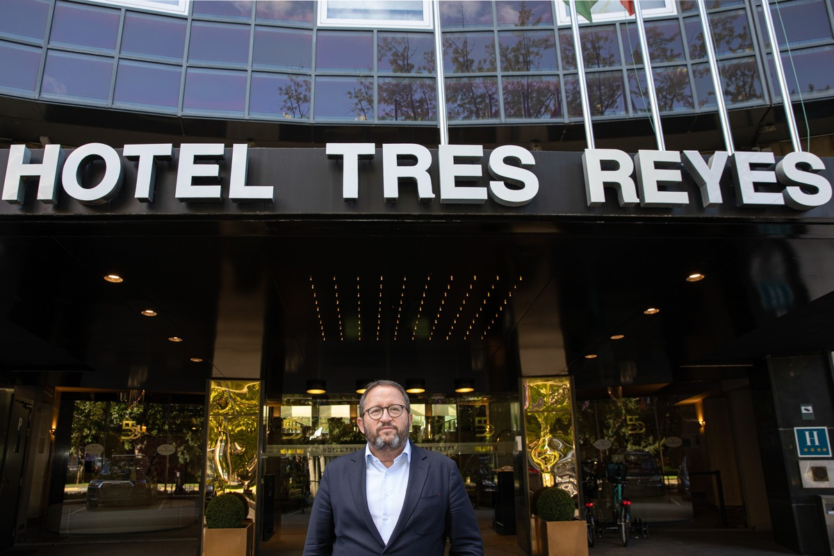 El Hotel Tres Reyes suma ya 57 años de historia.