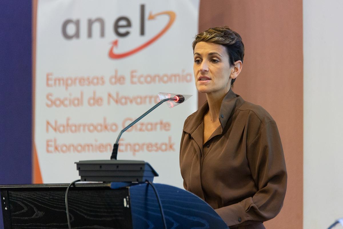 María Chivite puso en valor el papel que la Economía Social debe tener en la recuperación.