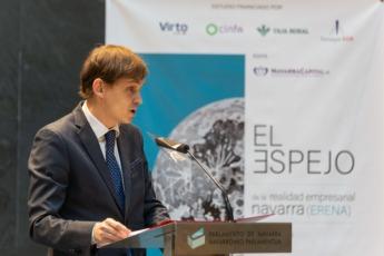 Mikel Benet analizó el compromiso mostrado por NavarraCapital.es en la pandemia con la ciudadanía y el tejido empresarial.