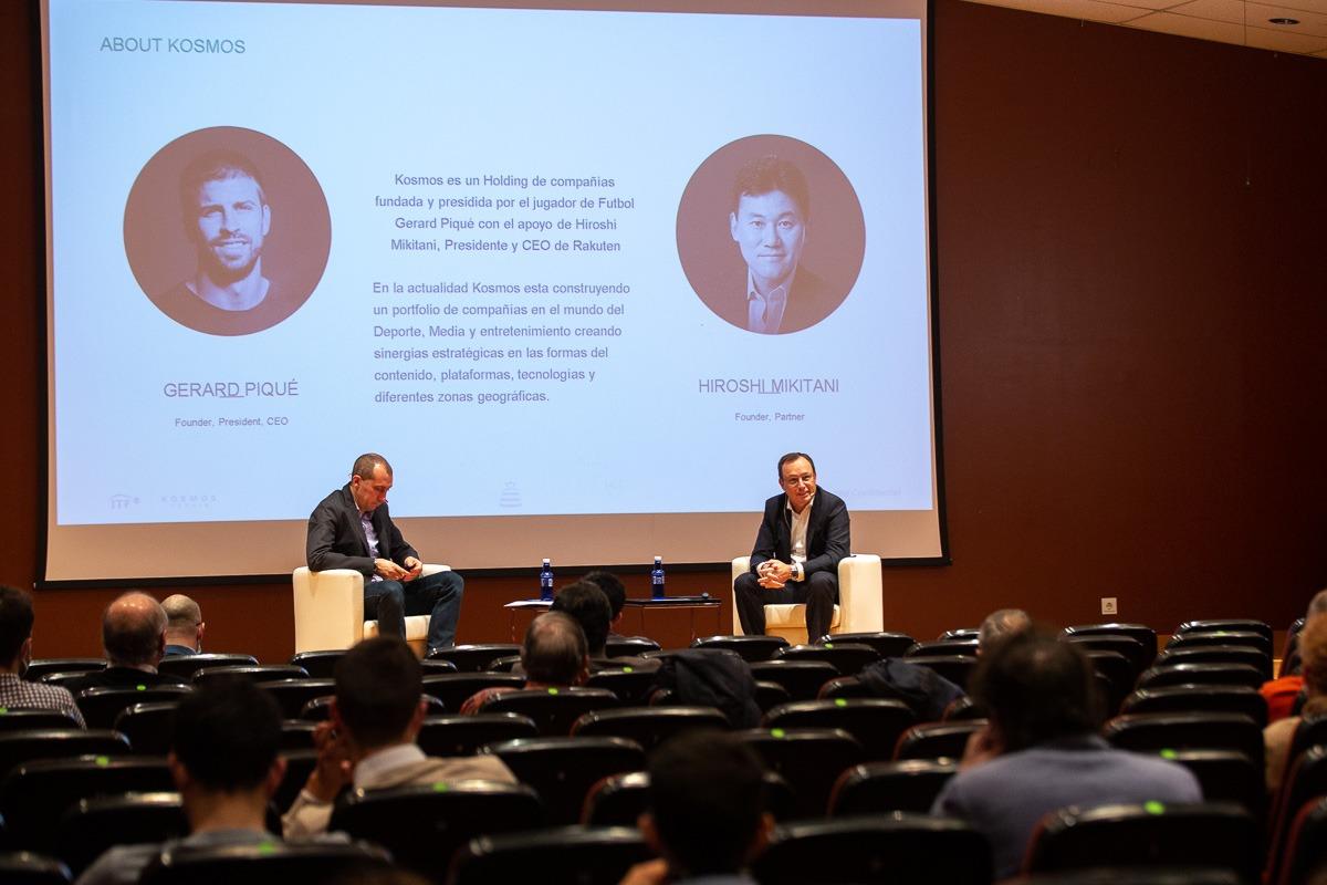 El director general de Kosmos Holding participó en la cuarta edición de 'La industria del entretenimiento como motor económico'.