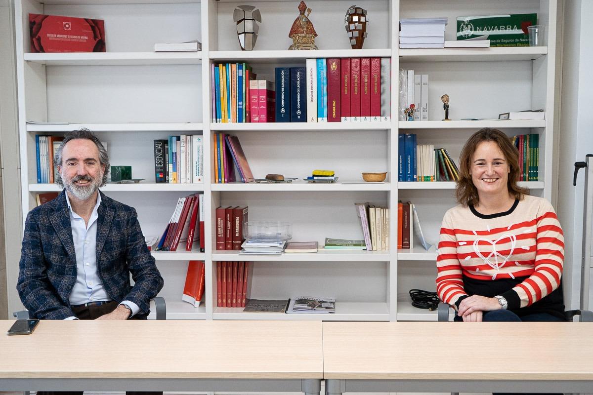 Moreno y Castañeda forman parte de la junta del Colegio desde hace ocho años.