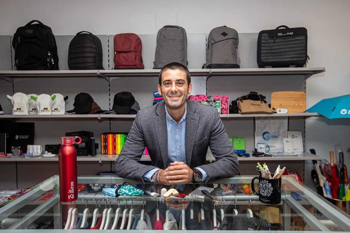 Pablo Gurpegui, de 34 años, cuenta con una amplia experiencia en el terreno del 'marketing'.