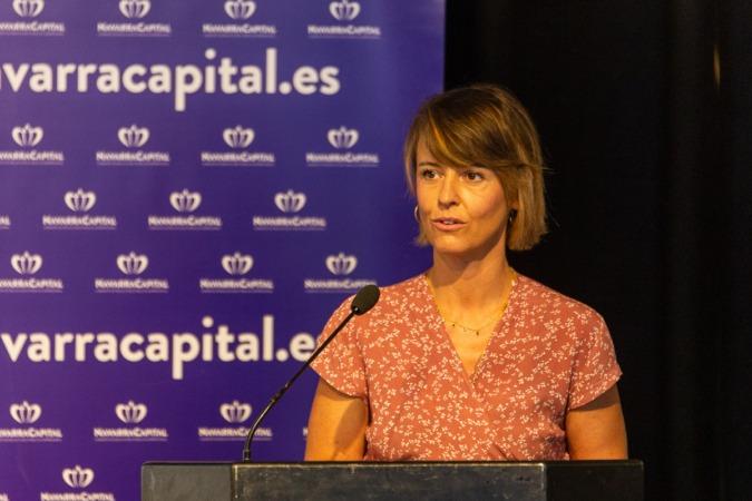 Eva Perujuániz presentó las principales conclusiones de la encuesta.